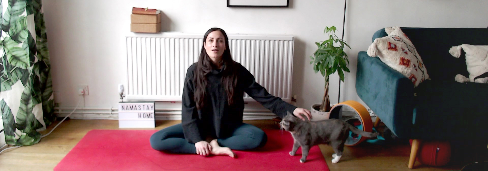 #3 Guided Meditation & Pranayama — 10min video
